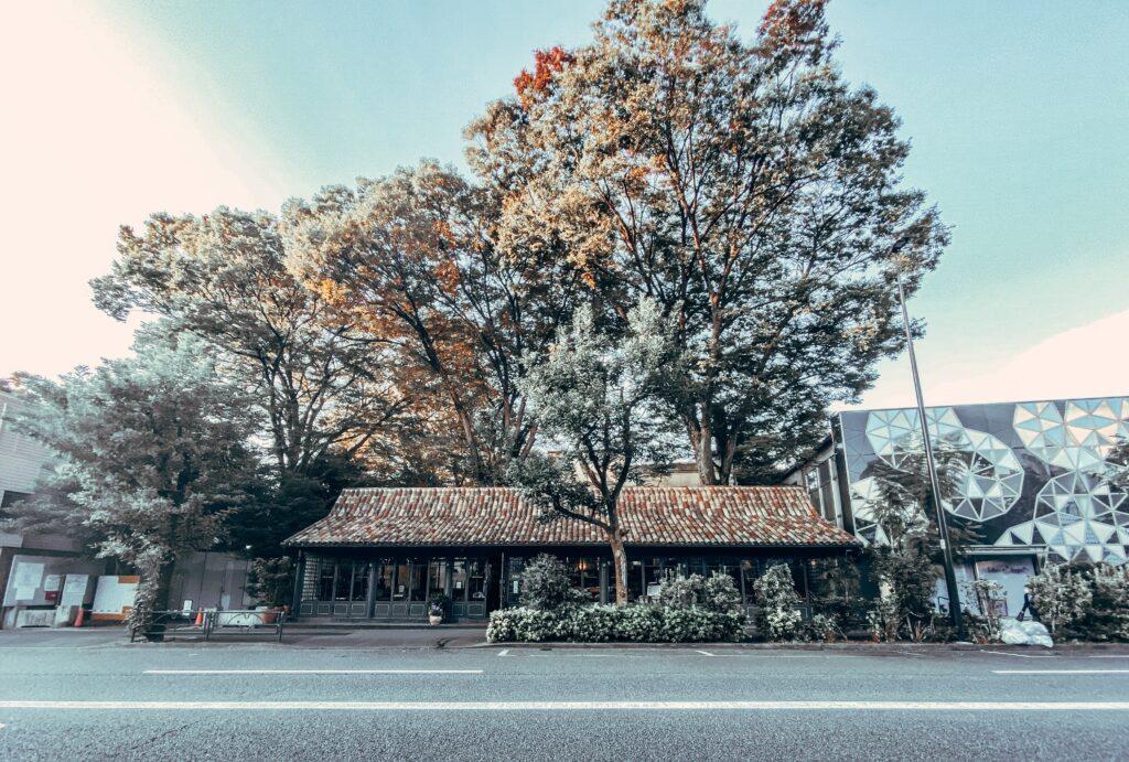 代官山の喫茶店